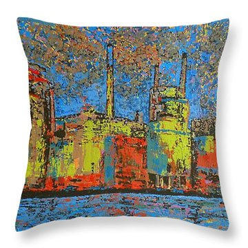 Impression - Irving Mill Throw Pillow