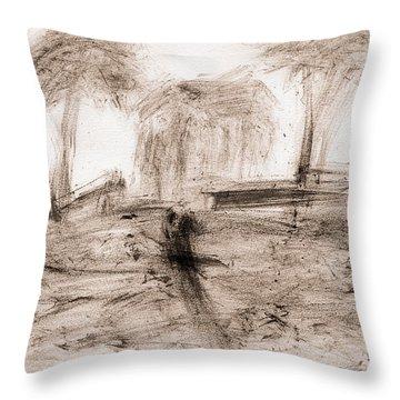 Impression Throw Pillow by Lori Kingston