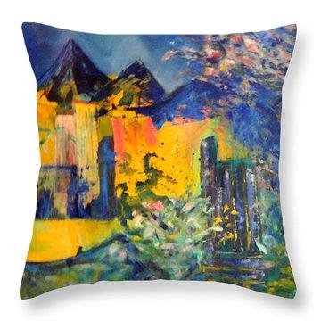 Impression Of Spring Throw Pillow