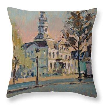 Impression Soleil Maastricht Throw Pillow by Nop Briex