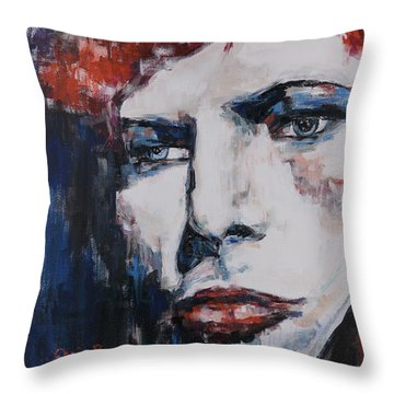 Impression Under Pressure Throw Pillow