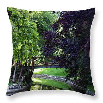 Impressionist Reminiscence  Throw Pillow