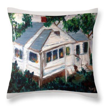 Impressions Of Cape Cod Throw Pillow