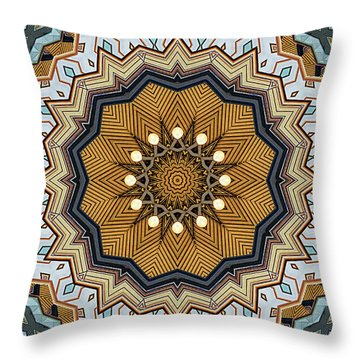 Throw Pillow featuring the digital art Impressions by Wendy J St Christopher