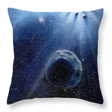 Impressive Impact Throw Pillow by Murphy Elliott