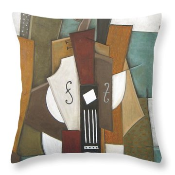 Impromptu Throw Pillow by Trish Toro