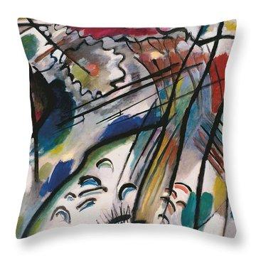 Improv 28 Throw Pillow by Kandinsky