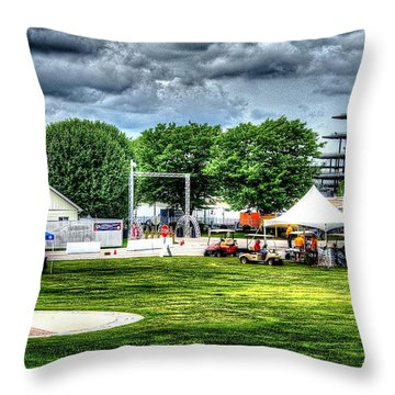 Ims Hospital  Throw Pillow