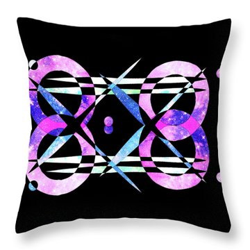 I Took A Retrofuturistic Journey In Space In 1920 Throw Pillow