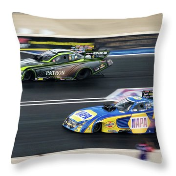 In A Blur Throw Pillow