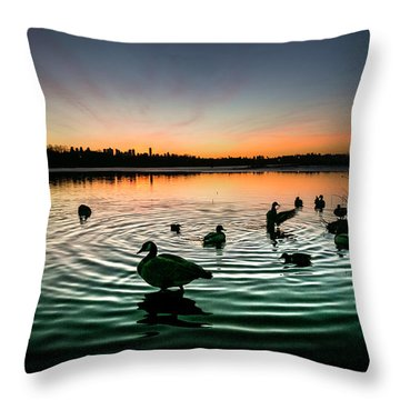 In A Flap Throw Pillow