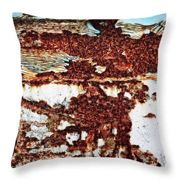 In A Funk Throw Pillow