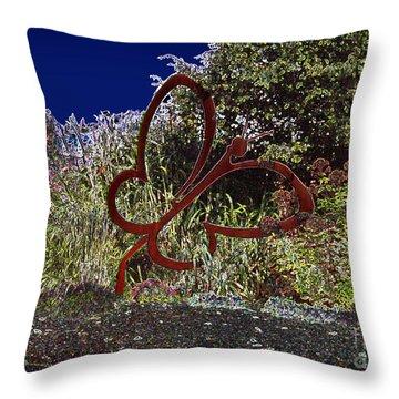 Throw Pillow featuring the photograph In A Gadda Da Vida by Carol Lynn Coronios