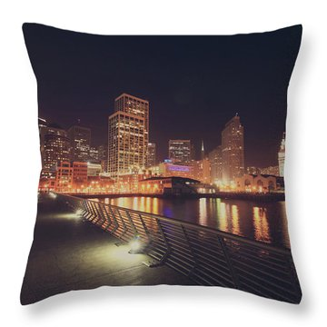 Throw Pillow featuring the photograph In A Heartbeat by Laurie Search