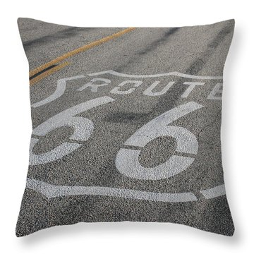 Throw Pillow featuring the photograph In A Hurry by Laddie Halupa