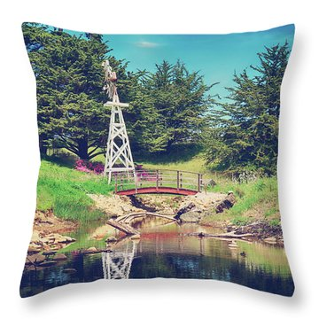 In A Perfect World Throw Pillow by Laurie Search