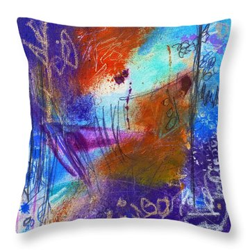 In A Summer Sky Throw Pillow