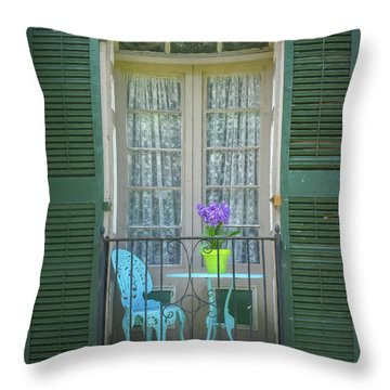 Throw Pillow featuring the photograph In Angelica by Guy Whiteley