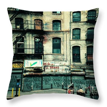 In Another Time And Place Throw Pillow