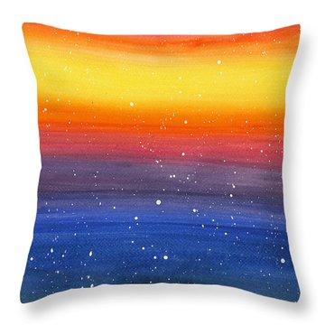 In Awe Throw Pillow