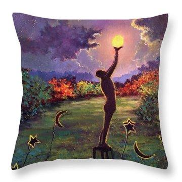 In Balance Throw Pillow