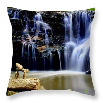 In Balance Throw Pillow