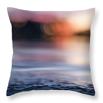 Throw Pillow featuring the photograph In-between Days by Laura Fasulo