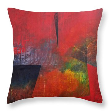 In Between Throw Pillow by Filomena Booth