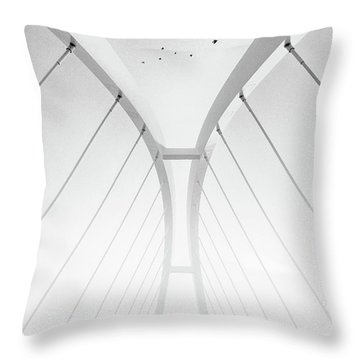 In Between It All Throw Pillow