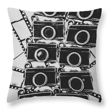 In Camera Art Throw Pillow
