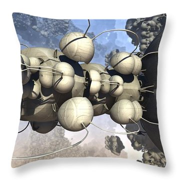 In Capacitance Throw Pillow
