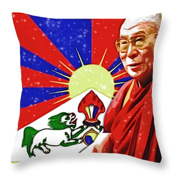 In Commemoration Throw Pillow