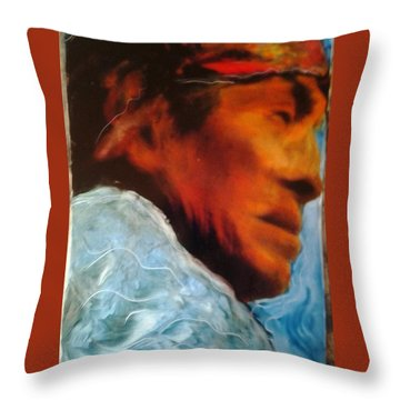 In Cool Clear Waters Throw Pillow by FeatherStone Studio Julie A Miller