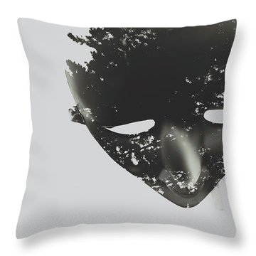 In Creation Of Thought  Throw Pillow