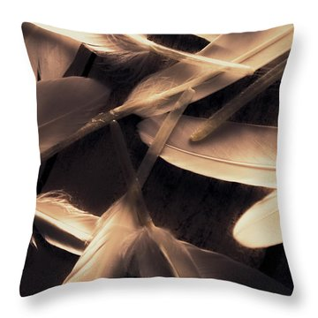 In Delicate Forms Throw Pillow