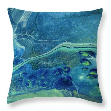 In Depths Unknown Throw Pillow