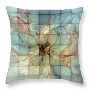 In Dreams Throw Pillow by Amanda Moore