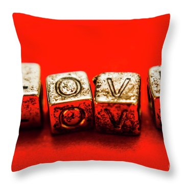 In Enduring Love Throw Pillow