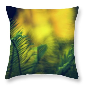 In-fern-o Throw Pillow