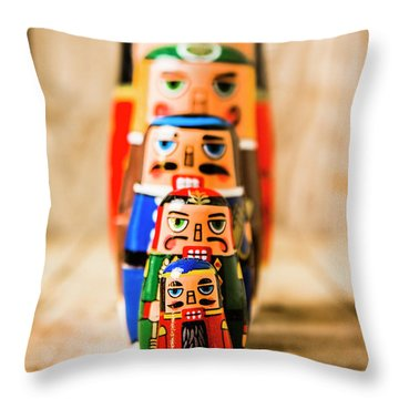 In Figurative Scale Throw Pillow