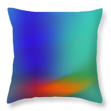 In Flight Throw Pillow by Prakash Ghai