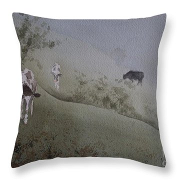 In From The Fog Throw Pillow