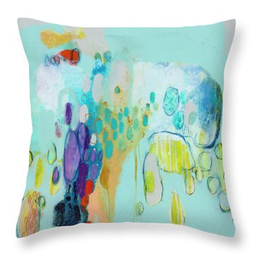 In Front Of The Children 2 Throw Pillow
