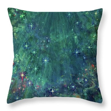 In Glory Throw Pillow