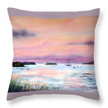 In Good Company Throw Pillow