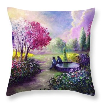 In Heaven Everything Is Fine Throw Pillow