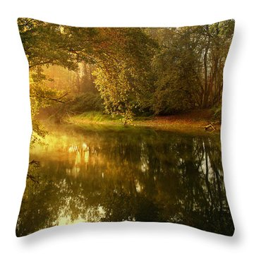 In His Presence Throw Pillow