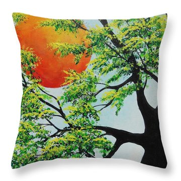 In His Time Throw Pillow