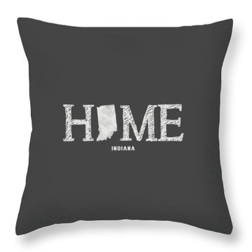 Throw Pillow featuring the mixed media In Home by Nancy Ingersoll