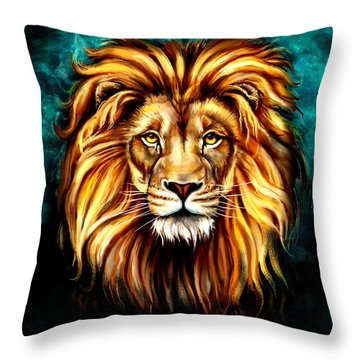 In Honor Of Cecil Throw Pillow by Karen Showell